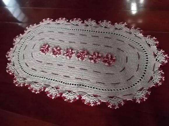 Arte Brasil Tapete Cinderela : Tapete Em Croche Vermelho Pictures to pin on Pinterest