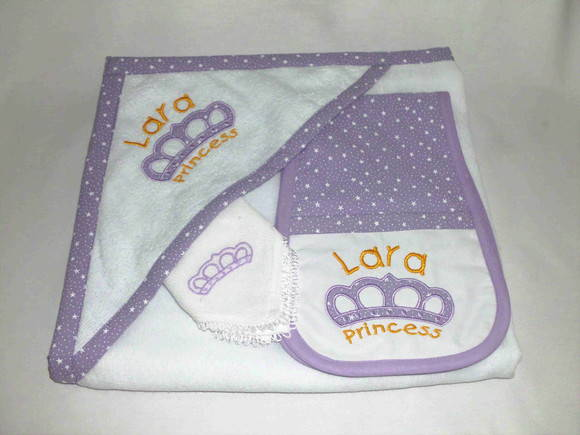 Kit Beb� feminino - Princess