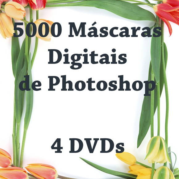 5000 M�scaras Digitais de Photoshop