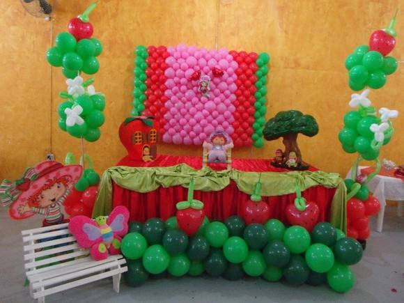 kit festa moranguinho baby enfeite mesa anivers rio Car Pictures