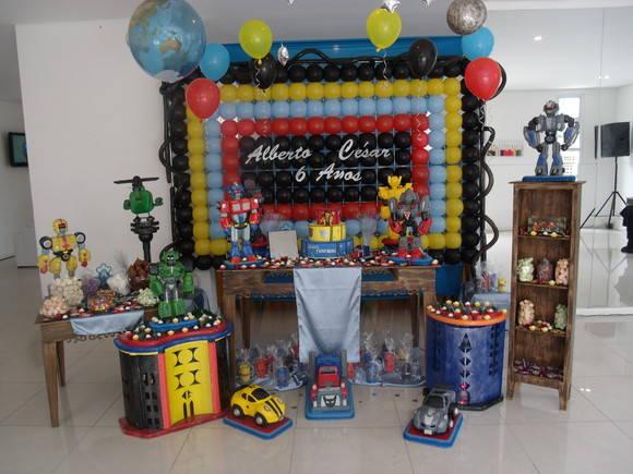 Decoração de Festa Transformers  Decoração e Arte By Silmara