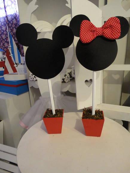 Centro de Mesa Mickey | Elo7