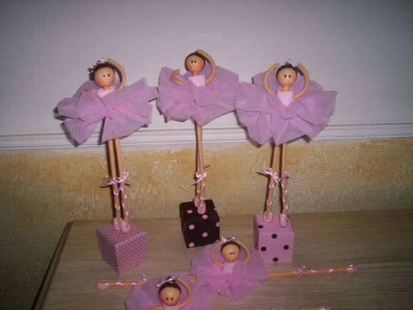 Centros de mesa de barbie bailarina - Imagui