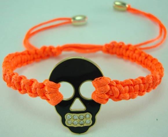 Kit pulseira macrame e spike(ref:cd107)