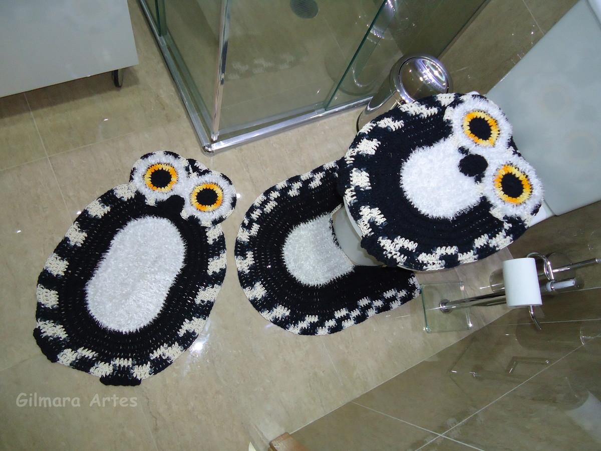 Tapete Minions De Croche : Jogo De Banheiro Minions Bnh 074 Tapete De Croche Pictures to pin on