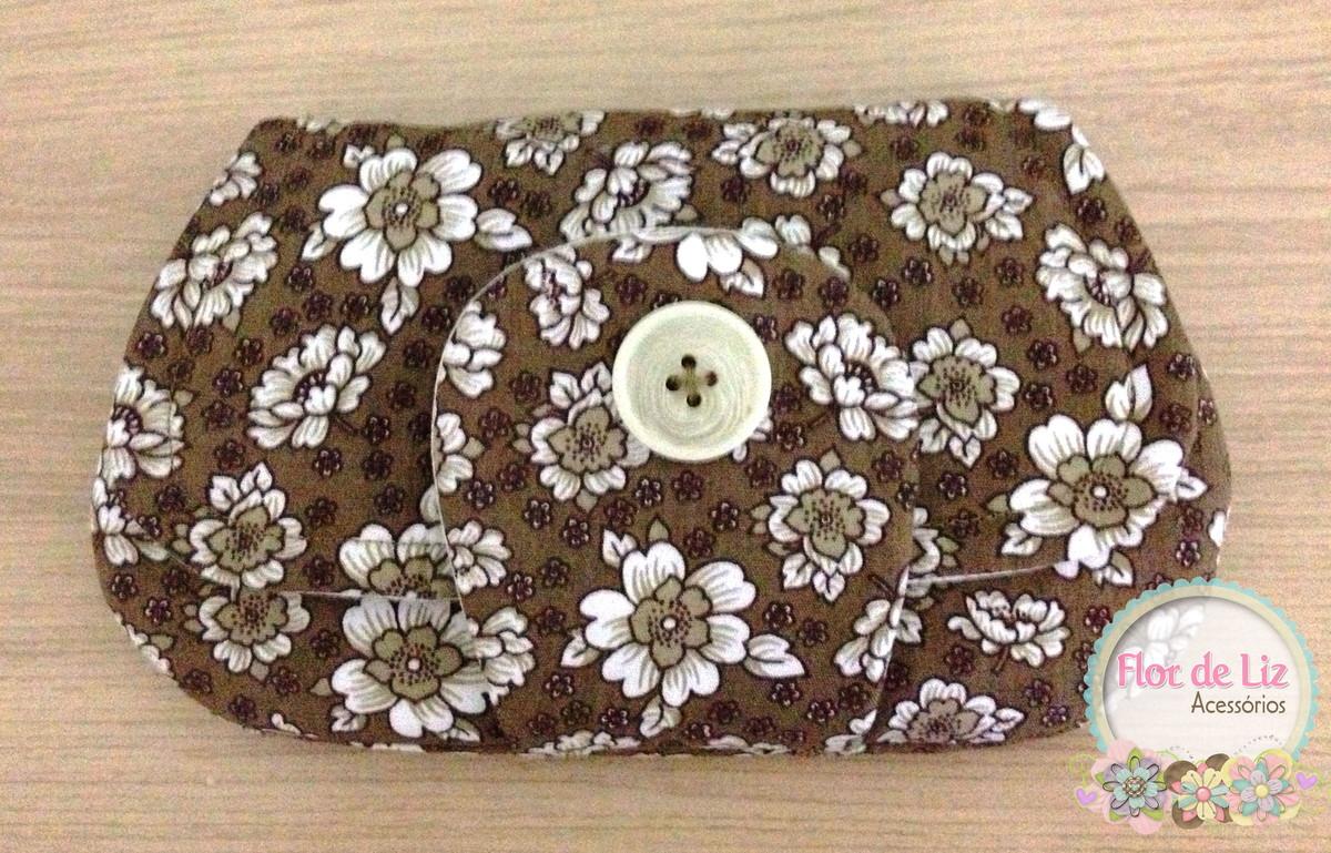 Bolsa De Mão Clutch : Clutch bag bolsa de m?o flor liz acess?rios elo
