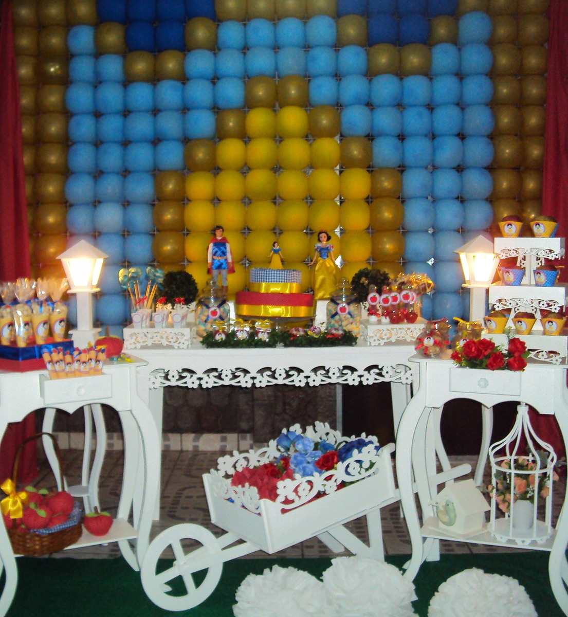 decoracao festa branca de neve provencal:festa provencal branca de neve decoracao festa provencal branca de
