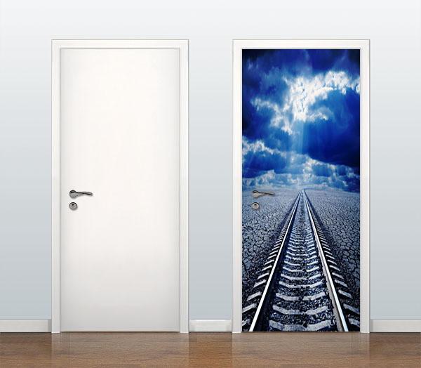 Armario Planejado Para Quarto Casal ~ Adesivo Decorativo Para Porta no Elo7 Michele Jeanine J