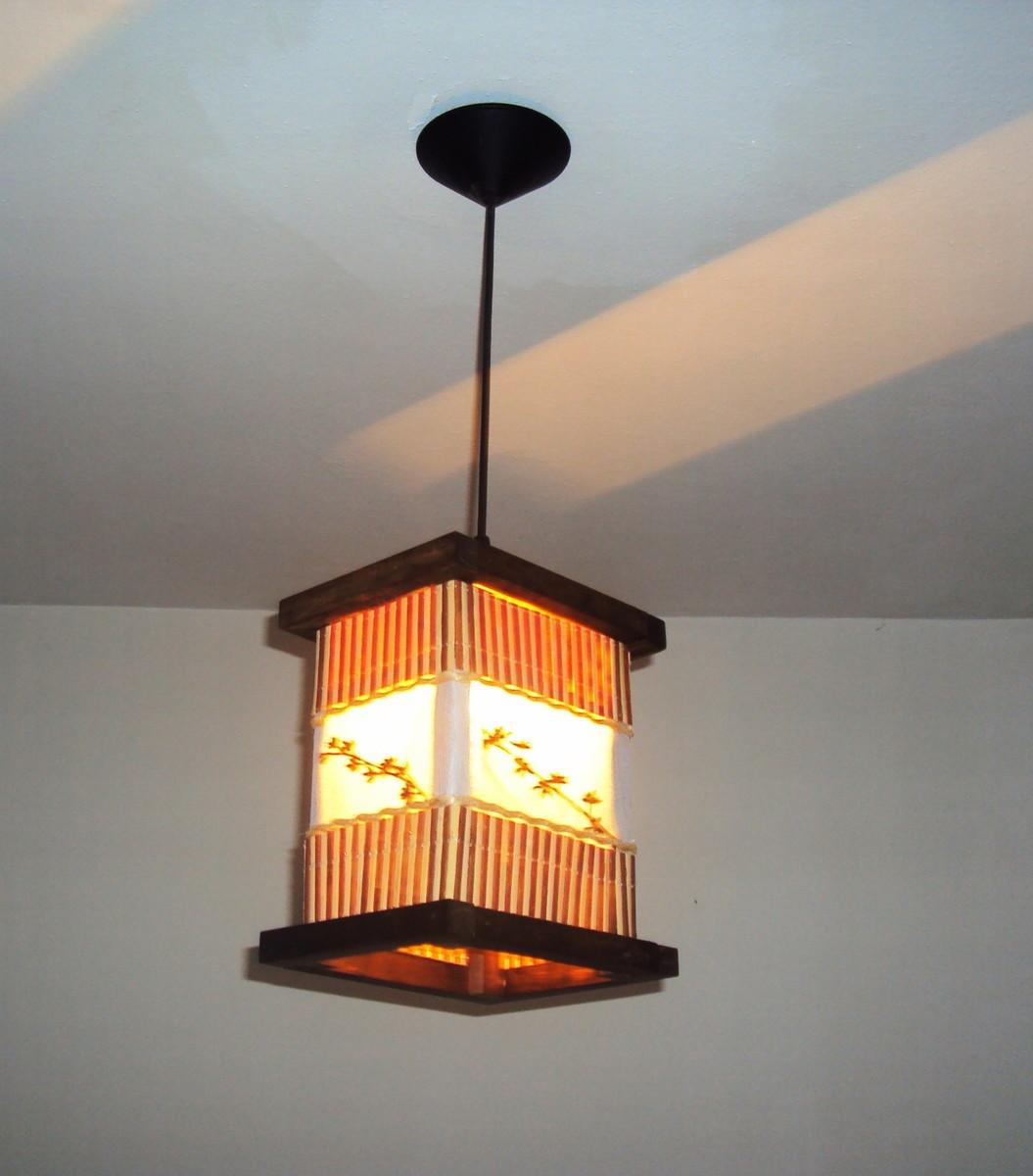 de teto lustre rustico bambu luminaria de teto lustre rustico bambu #B25819 1055x1200