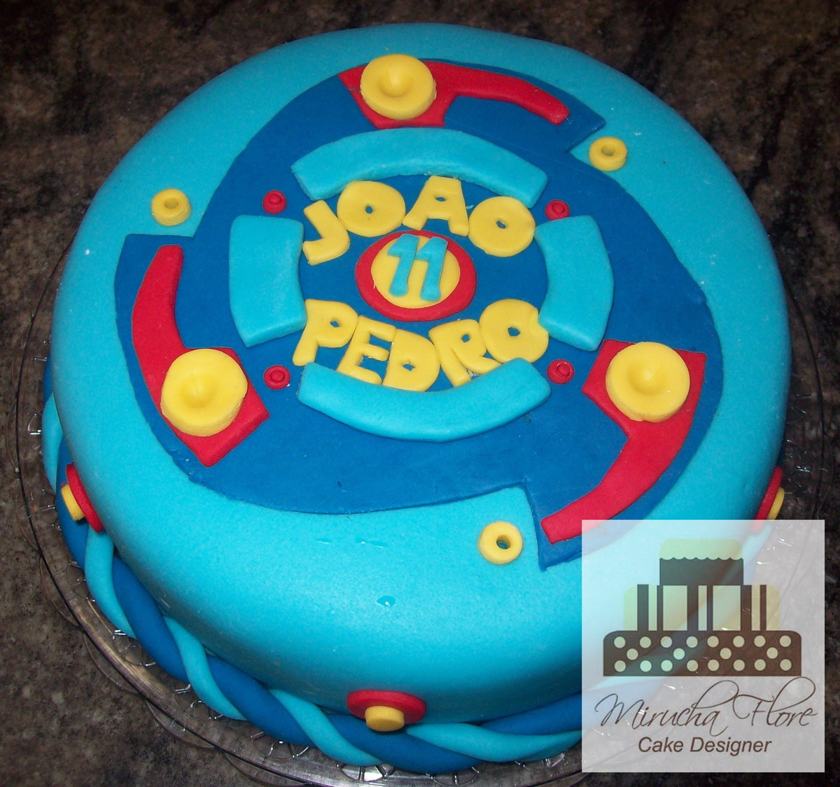 Bolo Beyblade No Elo7 Atelier Mirucha Flore Cake