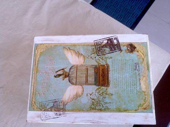 Armario Para Banheiro Com Espelho ~ caixa em mdf estilo vintage Belly Artesanato Elo7