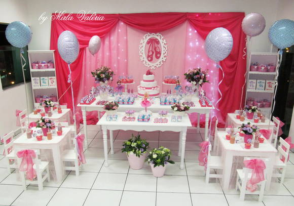 decoracao festa barbie : decoracao festa barbie:magicas decoracao barbie e as sapatihas magicas decoracao barbie