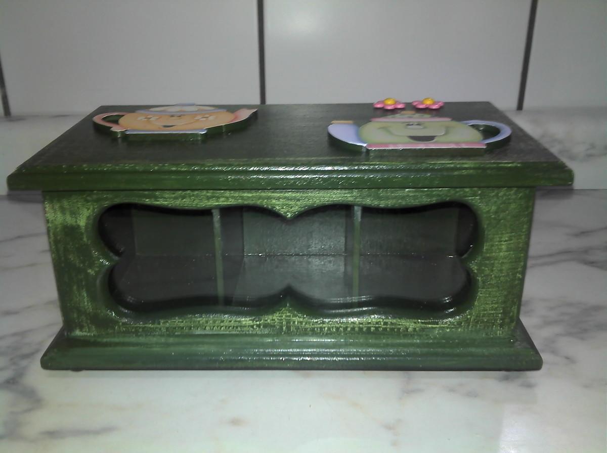 de cha com decoupage em madeira caixa de cha com decoupage em madeira  #4F587C 1200x896