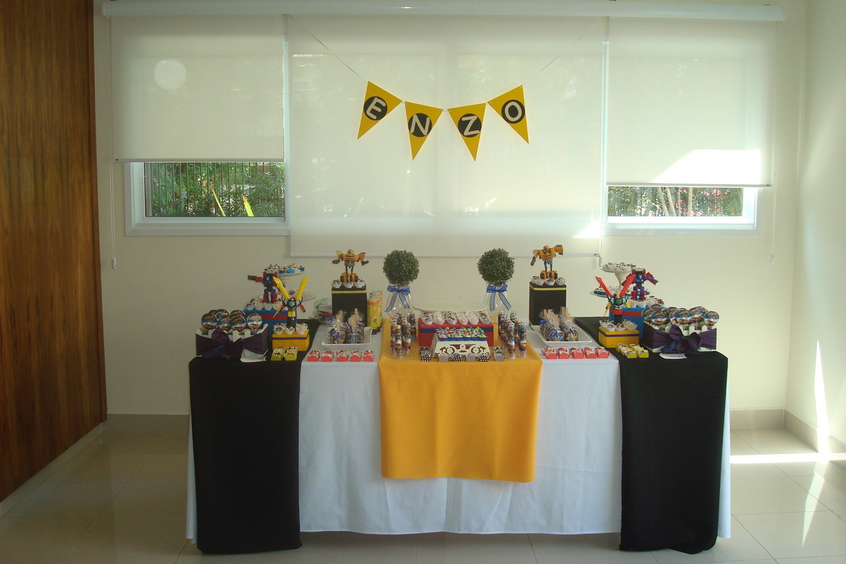 tema transformers decoracao de mesa tema transformers decoracao de