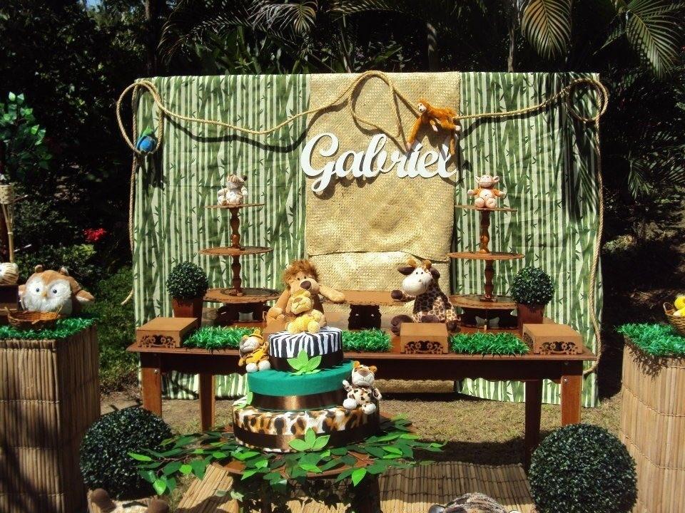 decoracao festa safari: Festas > Decoração de Festa Infantil > Decoração Festa Safari