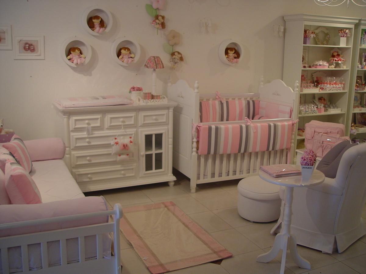 (QT 0150) Coleção bebê moderno PIPE e GUCA Elo7 ~ Quarto Rosa Marrom