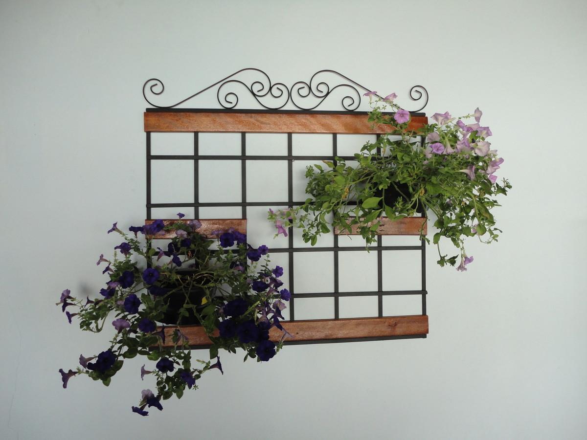 trelica de ferro para jardim vertical ? Doitri.com
