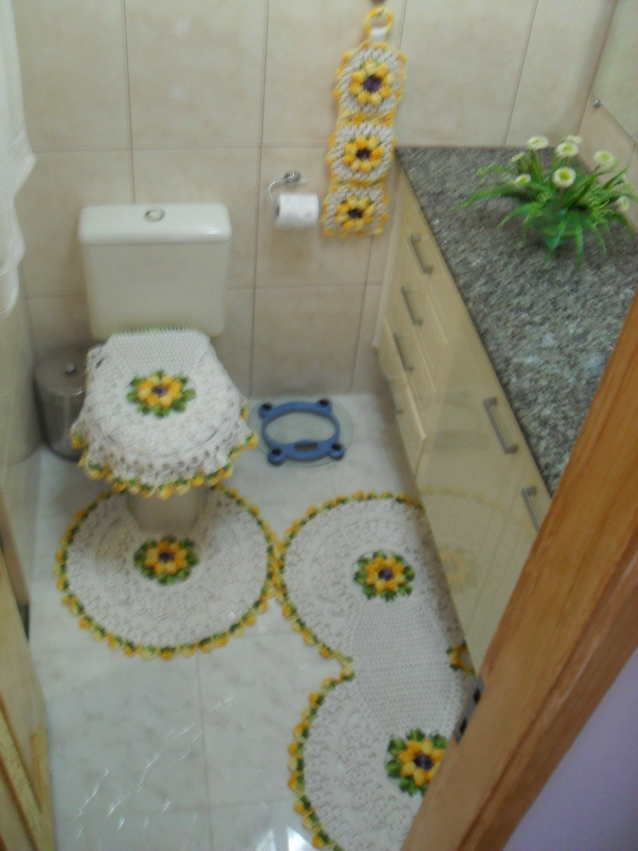 Tapete Floral Para Banheiro : flor tapetes de croche com flor tapetes de croche com flor tapetes de