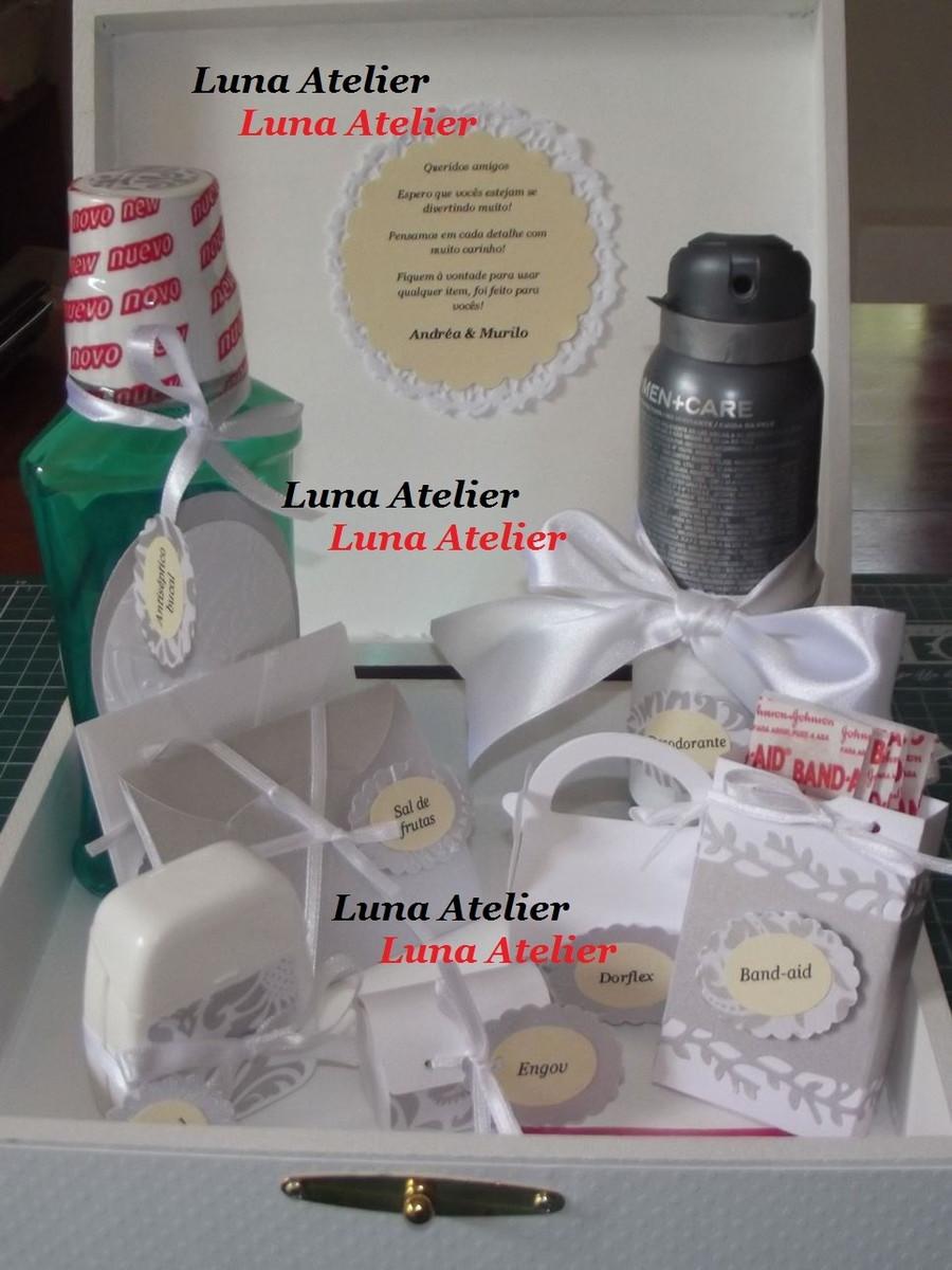 Kit Banheiro Casamento Floral : Kit toalete masculino casamento luna atelier elo