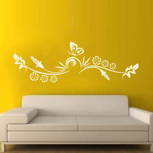 Artesanato Quadros Decorativos Passo A Passo ~ Adesivo Decoraç u00e3o Parede Arabesco 34 Paredes decoradas com adesivos Elo7