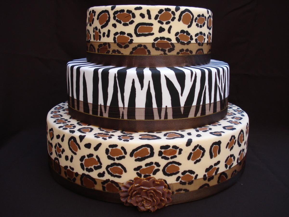 Bolo Oncinha e Zebra no Elo7 Biscuit Mix (262F02) -> Decoração De Zebra Para Aniversario