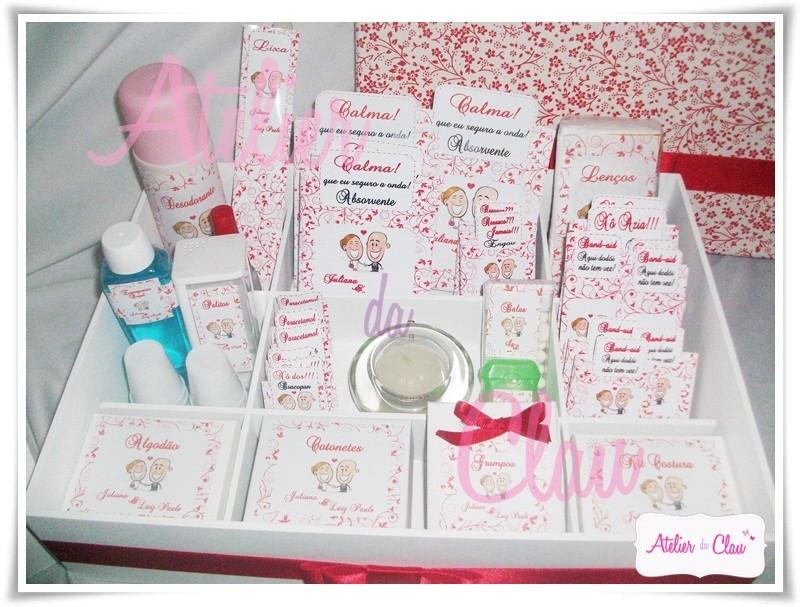 Kit De Banheiro Vermelho E Branco : Kit banheiro g vermelho e branco atelier da clau elo
