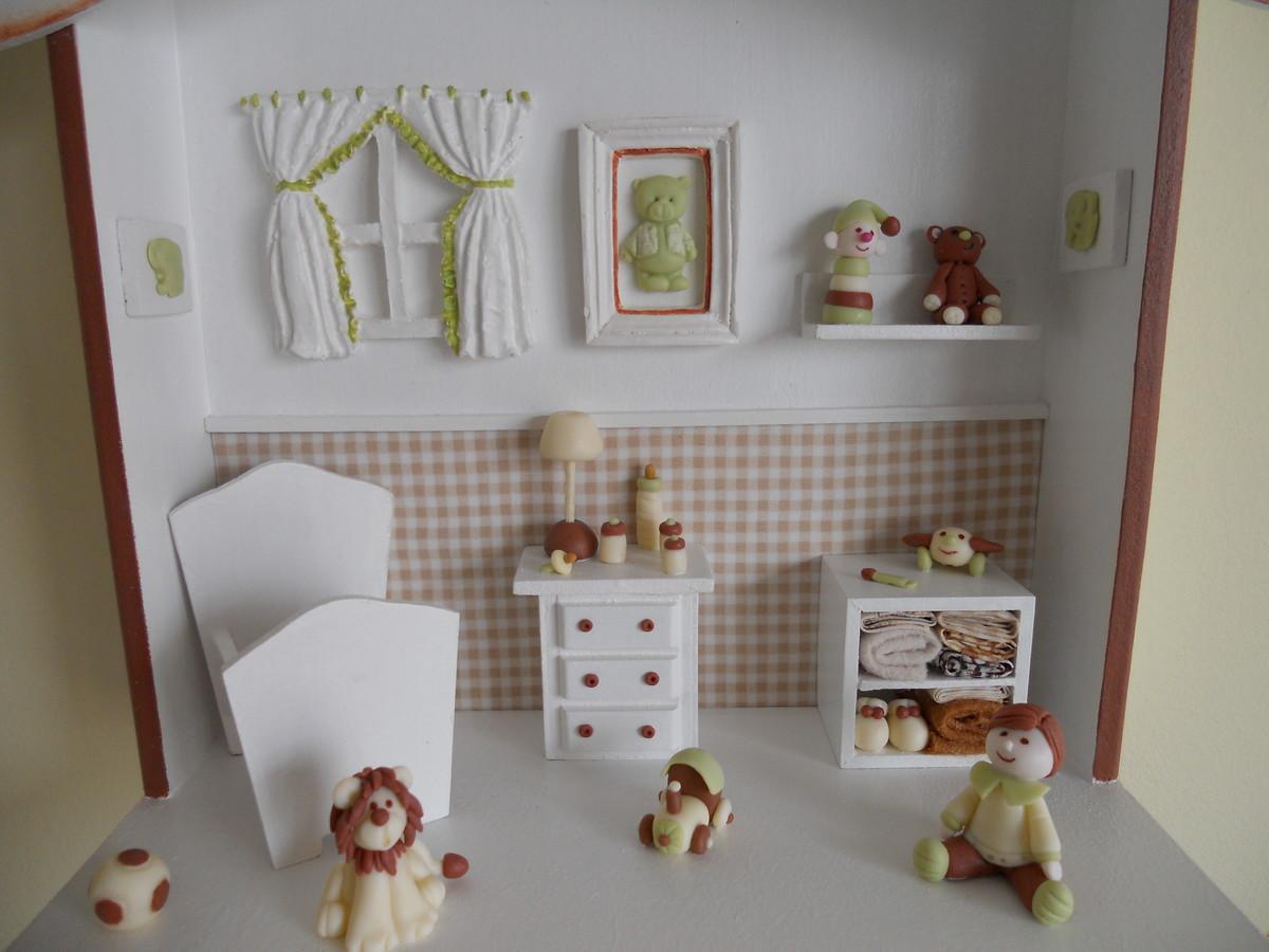 #492F23 enfeite de porta de maternidade biscuit enfeite de porta de  1436 Requadro De Portas E Janelas