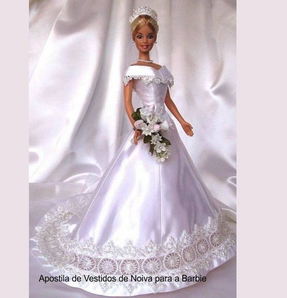 Barbie Noiva ~ Apostila Vestidos de Noiva para Barbie EFEITO FOFURA by Vanessa Campos Elo7