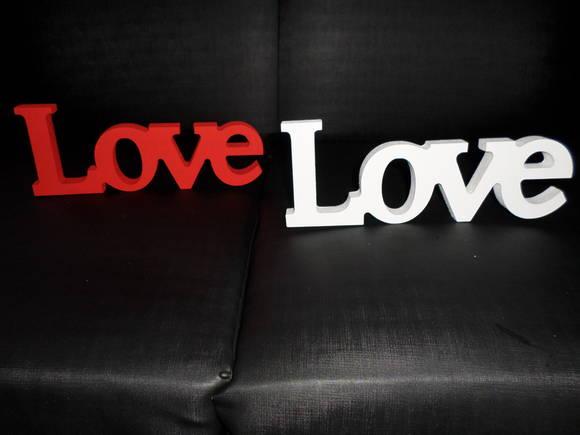 Artesanato Significado ~ Letra em mdf LOVE Artesanatos Juliana Elo7