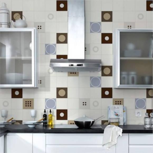 Adesivos para azulejo 430  ADESIVOS COMPRAR E COLAR  Elo7 # Azulejo Cozinha Horizontal