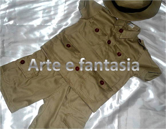 fantasia infantil safari mickey 1