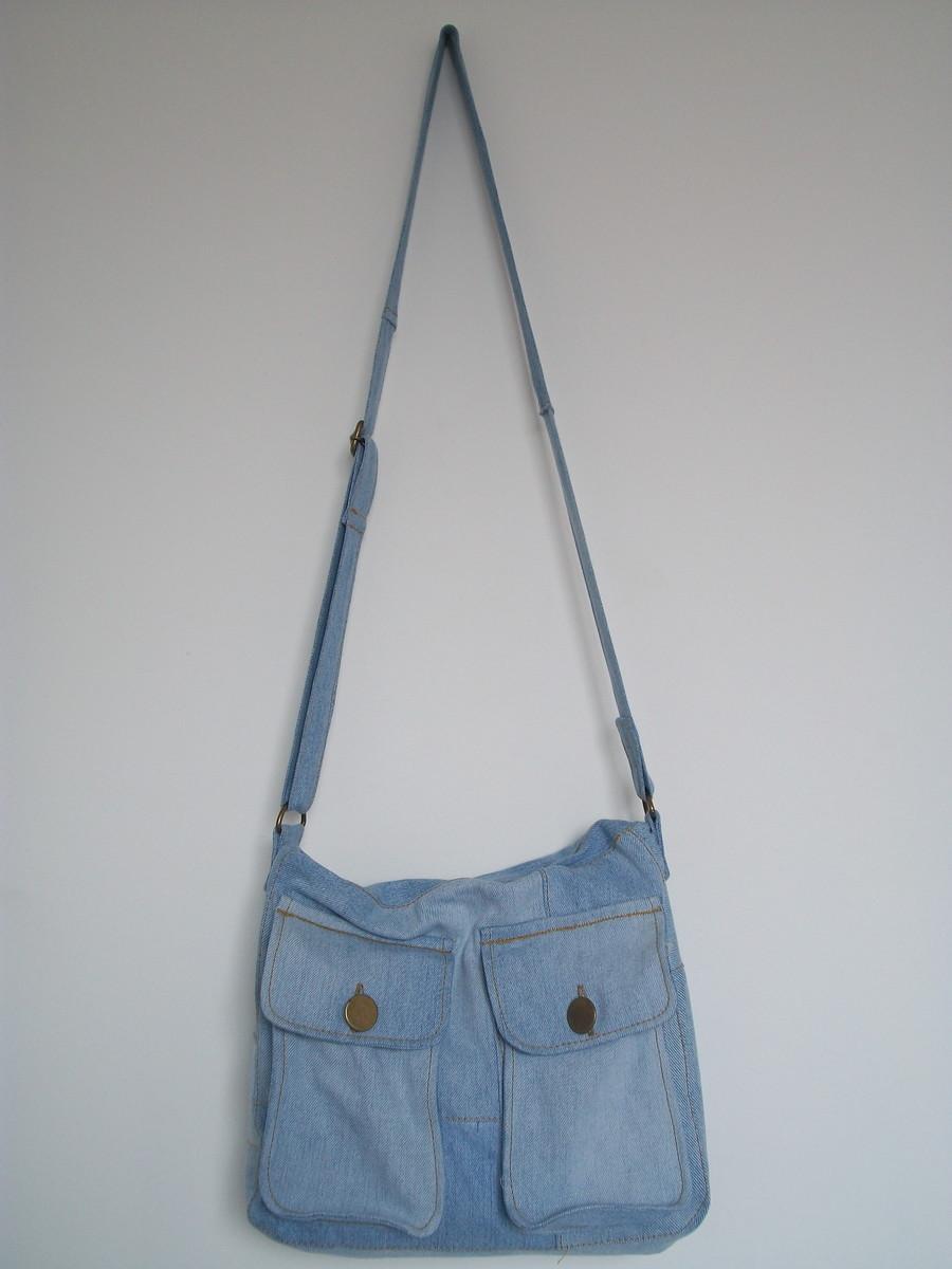 Bolsa De Tecido Jeans Como Fazer : Jeans como fazer bolsas de cal?a usadas dicas e