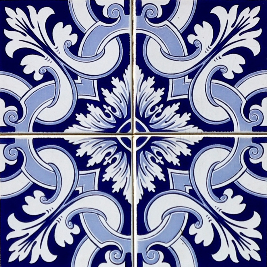 Azulejo adesivo az096 no elo7 arabesco design 362fbd for Azulejo 15x15