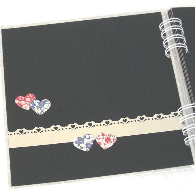 Lbum romance ii p ginas decoradas talento criativo elo7 for Paginas decoradas