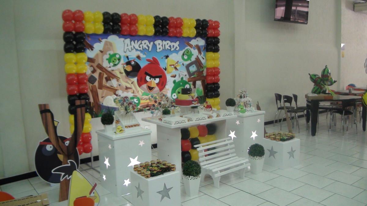 Angry Birds Decoracao Provencal Decoracao Infantil Angry Birds Locacao~ Decoracao Festa Angry Birds