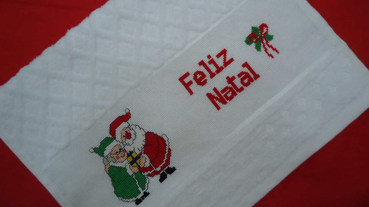 decoracao de lavabo para o natal:Início > Casa > Toalha > TOALHA LAVABO – REF.: TLDC-PC 002