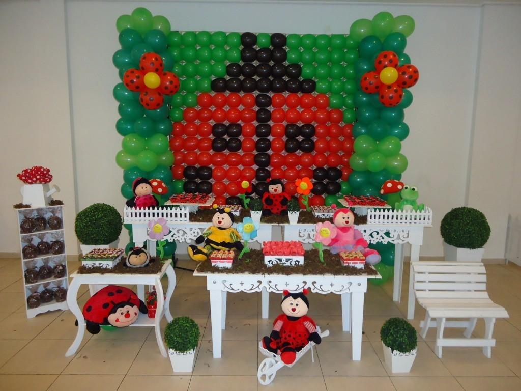 festa jardim infantil : festa jardim infantil:jardim encantado joaninha clean festa infantil jardim encantado