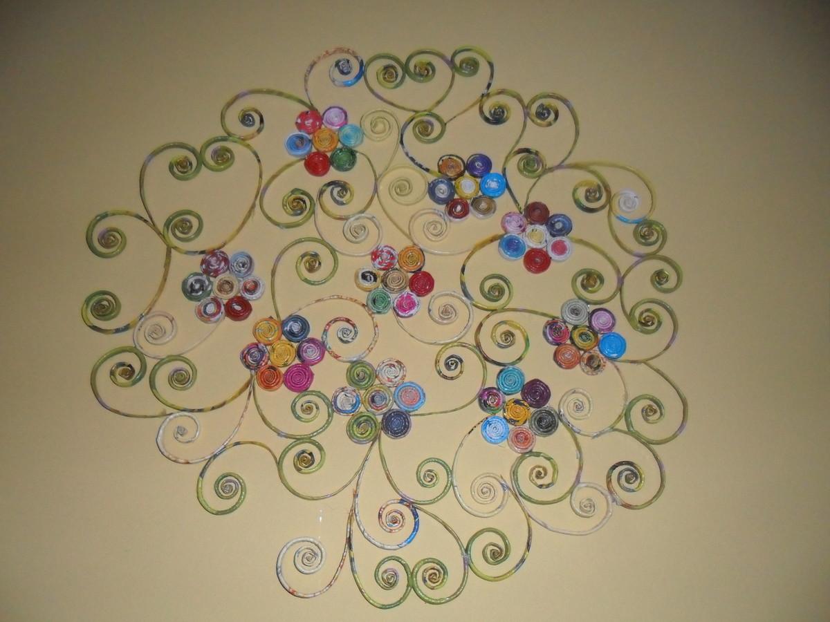 Adesivo Para Tratamento De Herpes Labial ~ Artesanato com papel reciclado Art Paz Elo7