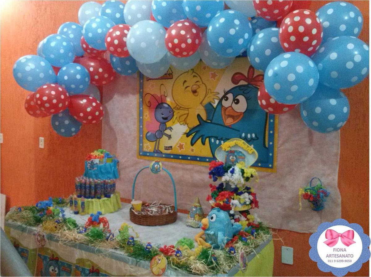 Decoraç u00e3o da Galinha Pintadinha Silzem Mendonça Melo Elo7 -> Decoração Festa Infantil Galinha Pintadinha Simples