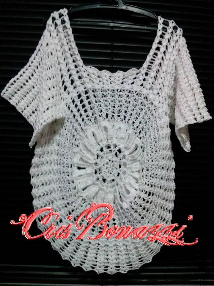 Modelos De Blusas A Crochet Para Dama Youtube | apexwallpapers.com