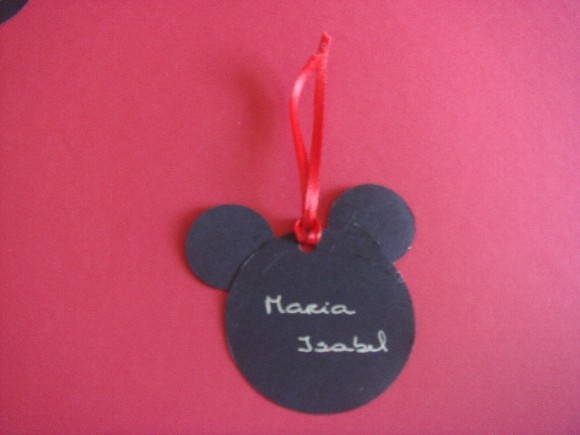 TAG DO MICKEY E MINNIE NOME P/ CONVITE