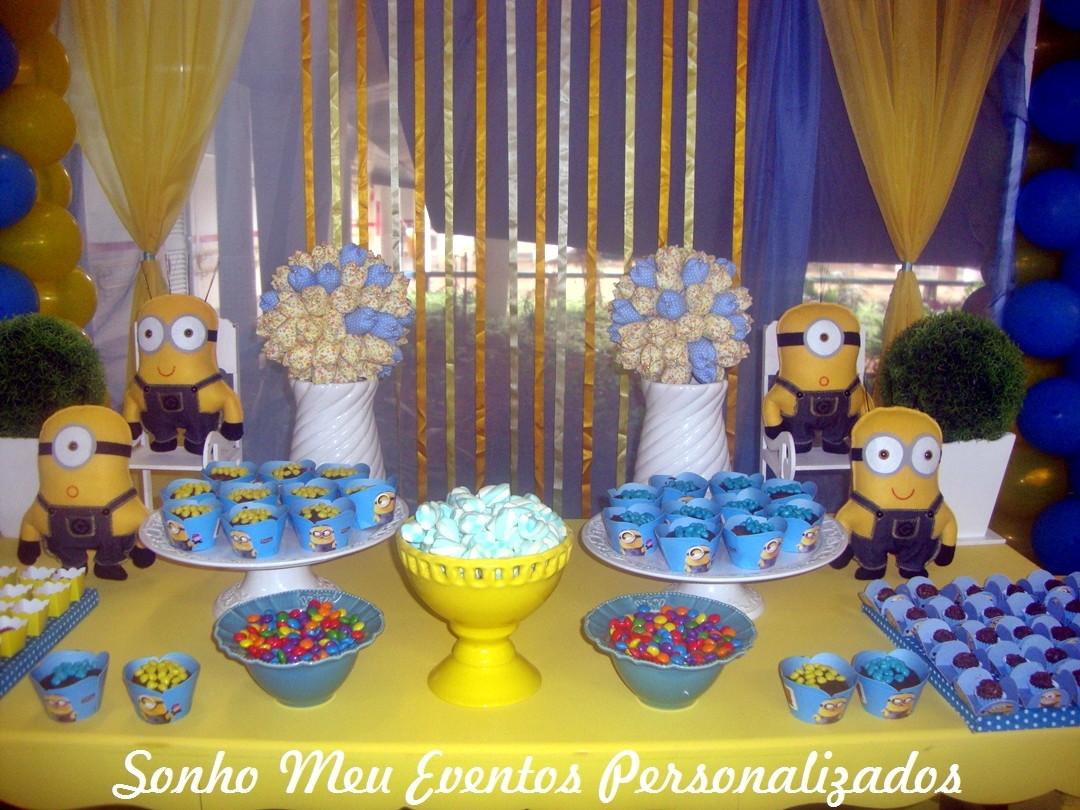 decoracao festa minions : decoracao festa minions:minions mesa minions decoracao tema minions mesa minions decoracao