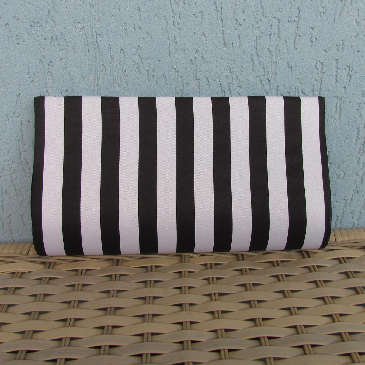 Bolsa Listrada Preta E Branca : Clutch listrada preta e branca magias de mulher elo
