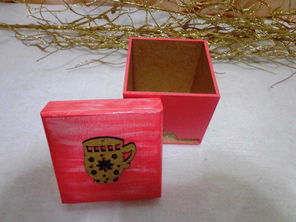 caixa de madeira mdf porta cha decoracao caixa de madeira mdf porta  #3C1E0C 1200x900