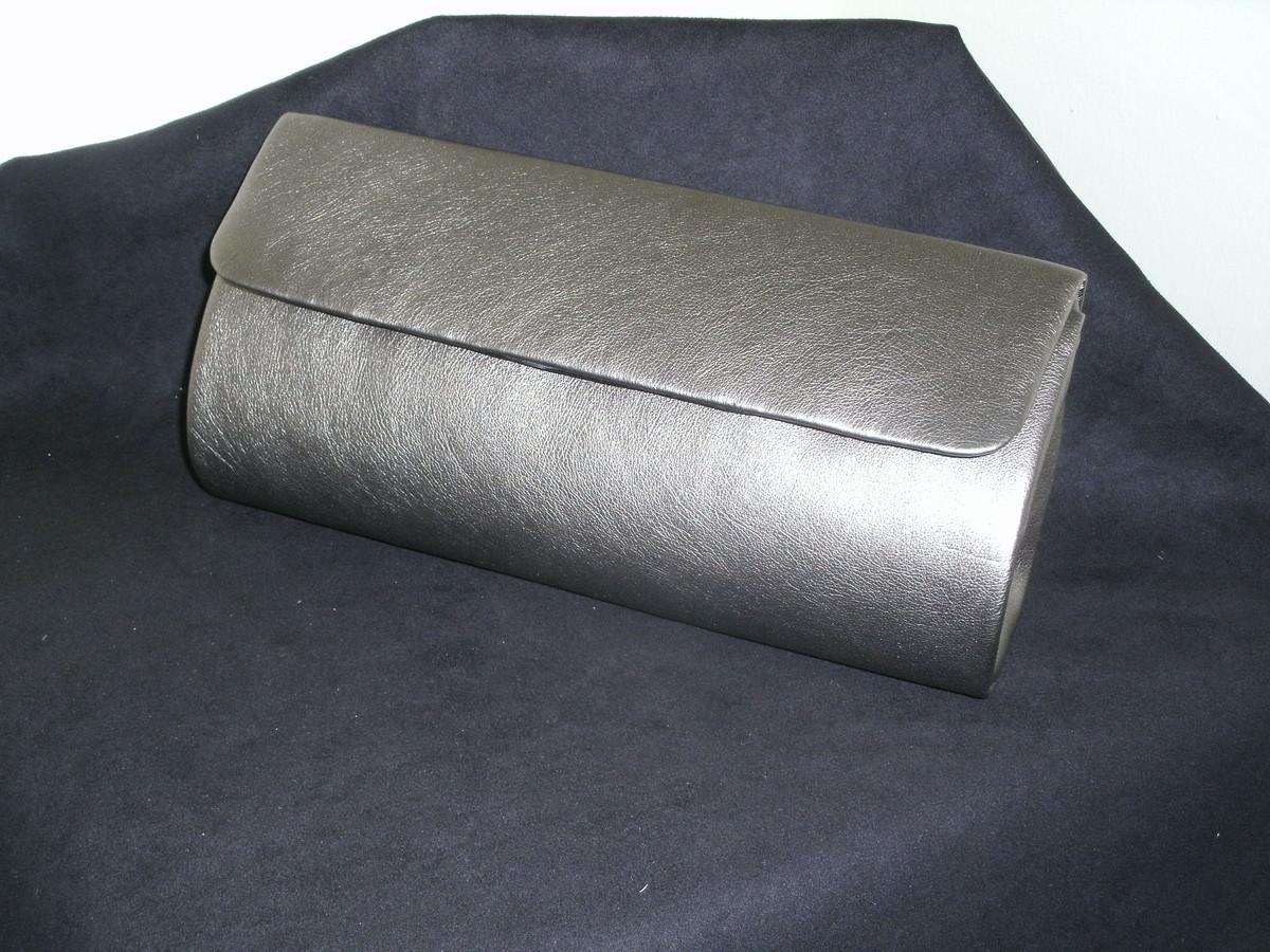 Bolsa De Mão Prata : Bolsa carteira prata velha by mippell elo