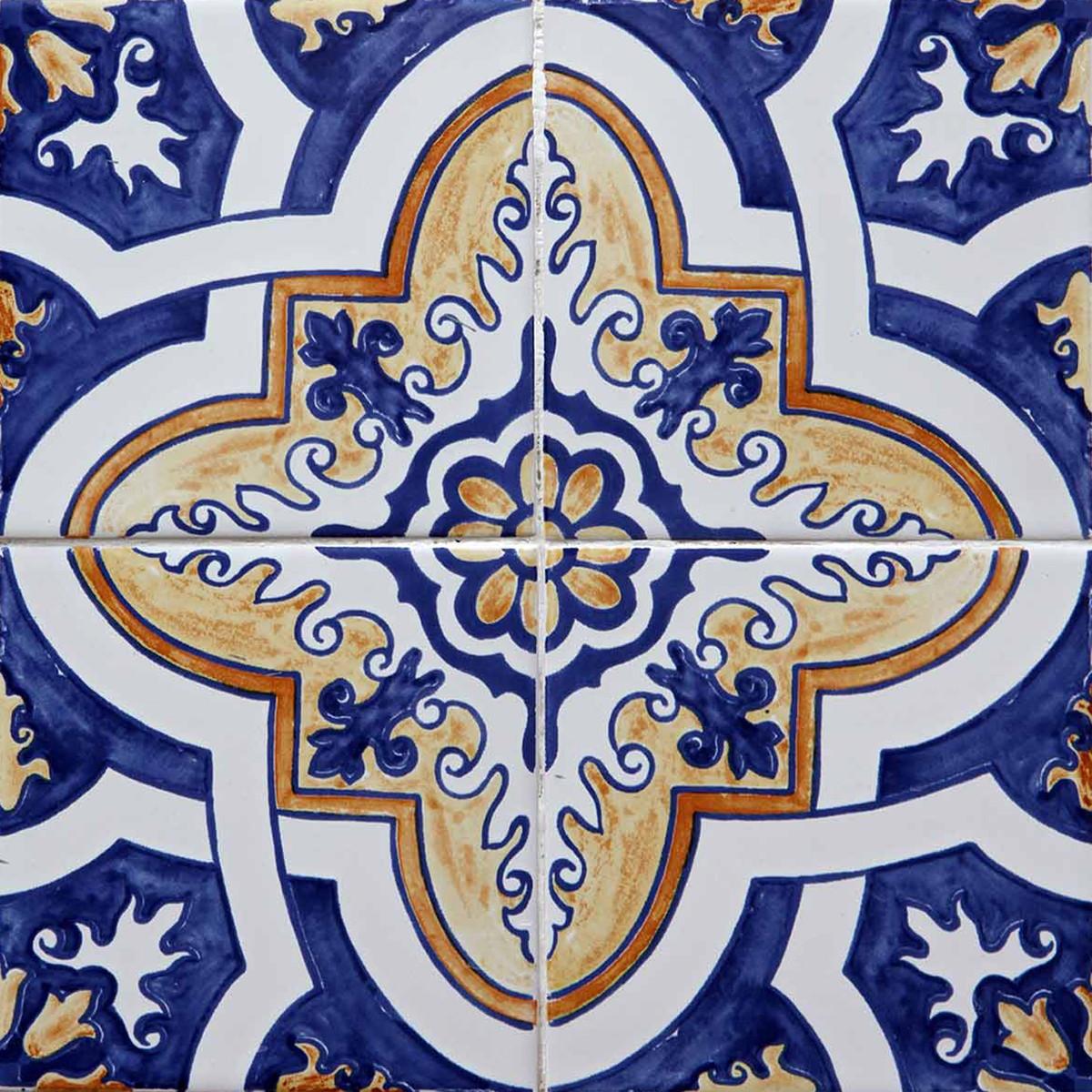 Início > Decoração > Azulejo > Azulejo Adesivo : AZ007 11 #0E1247 1200 1200