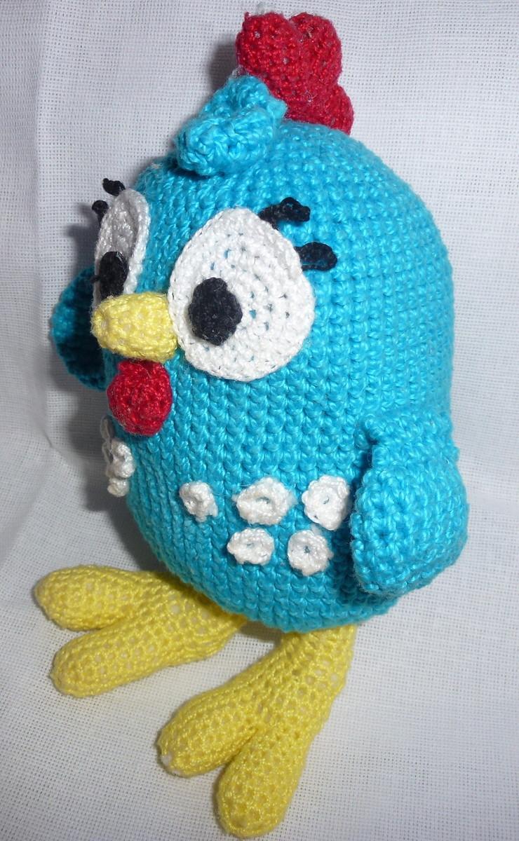 Amigurumi - Galinha pintadinha em croche ...