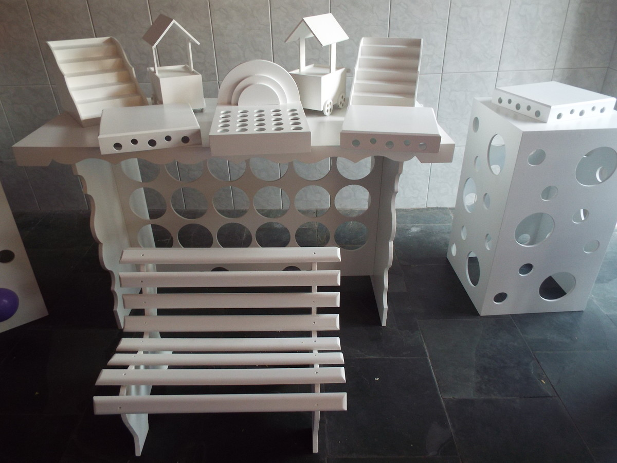 aluguel de kits clean provençal OPHICINA DE ARTES EM MDF Elo7 #445059 1200x900