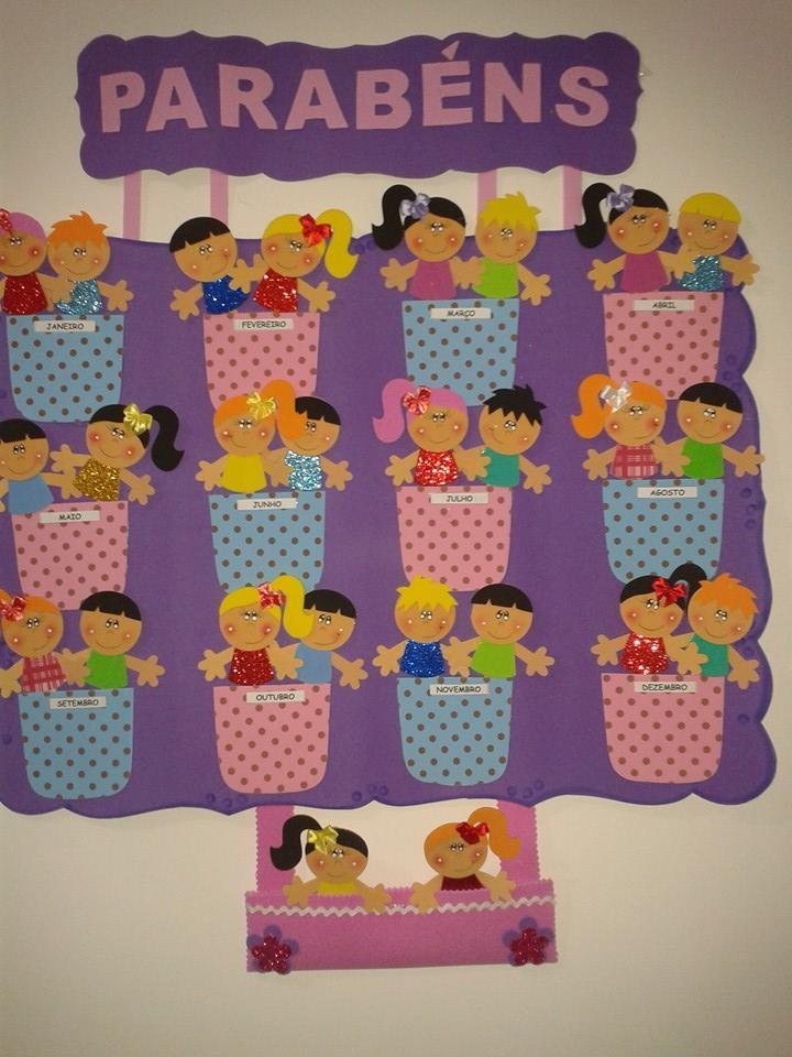 decoracao de sala aula educacao infantil – Doitricom -> Decoracao Banheiro Educacao Infantil