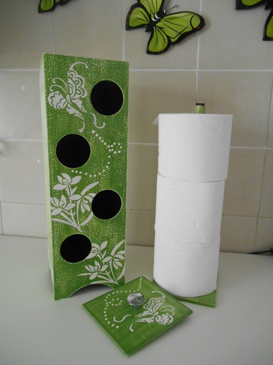 Porta rolo papel higiênico( 3 rolos)  ATELIER  ARTE COM AMOR  El -> Armario De Banheiro Com Porta Papel Higienico